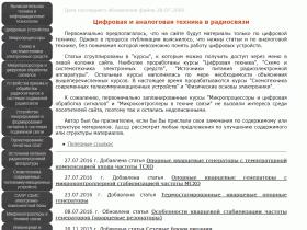 Цифровая техника в радиосвязи - digteh.ru