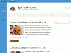 Sparrow Dreamer - мастерская вязаных игрушек Амигуруми - gorobchyk.in.ua