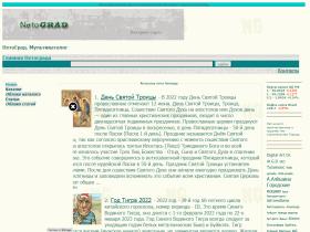 Нетоград - общетематический интернет портал - netograd.ru