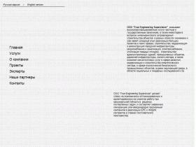"""ООО """"True Engineering Supervision"""" - www.true-engineering.com"""
